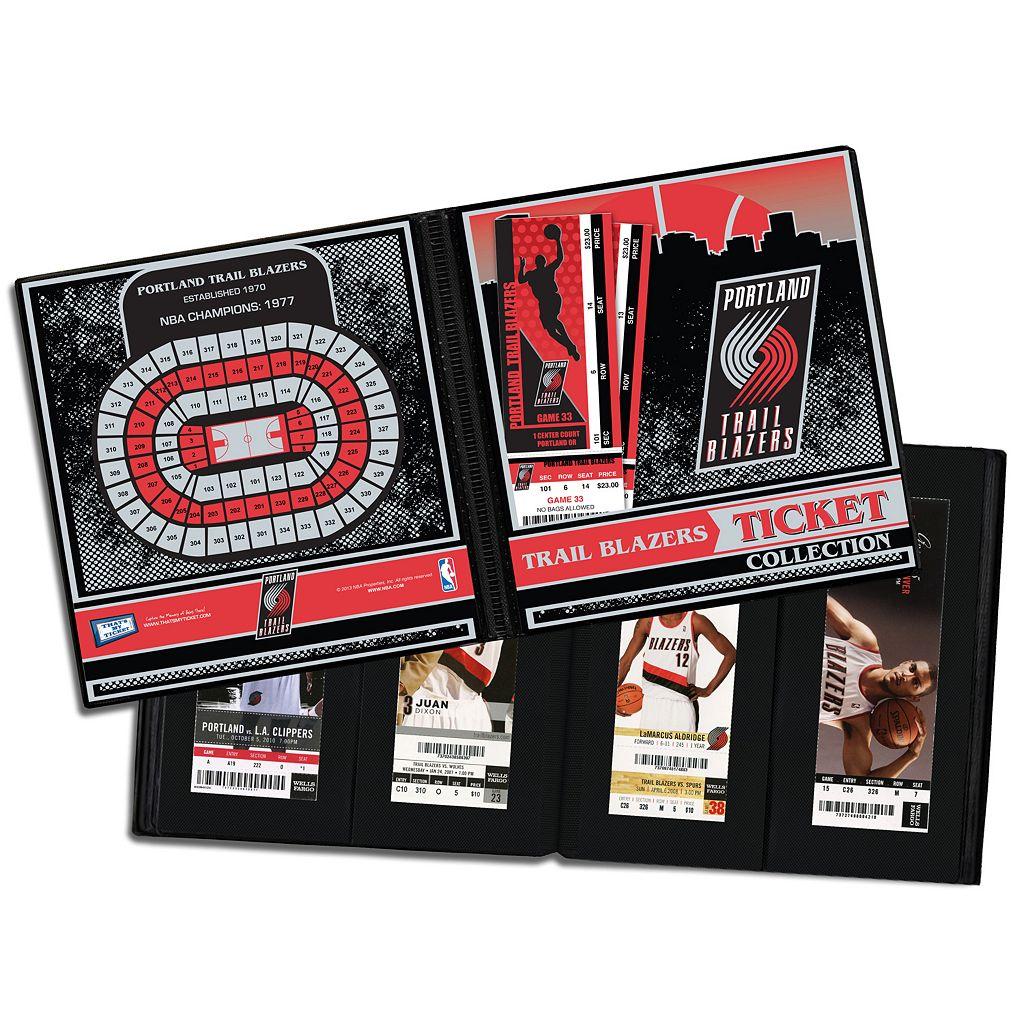 Portland Trail Blazers Ticket Album