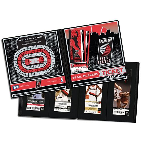Portland Blazers Shop: Portland Trail Blazers Ticket Album