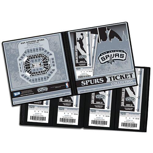San Antonio Spurs Ticket Album