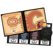 Calgary Flames Ticket Album