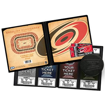 Carolina Hurricanes Ticket Album