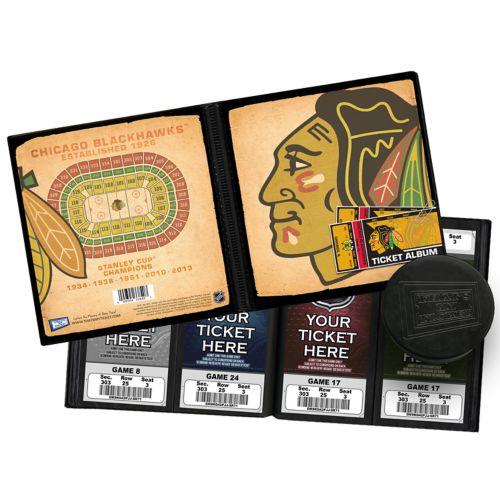 Chicago Blackhawks Ticket Album