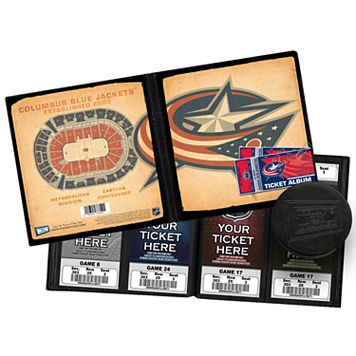 Columbus Blue Jackets Ticket Album