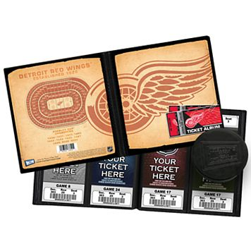 Detroit Red Wings Ticket Album