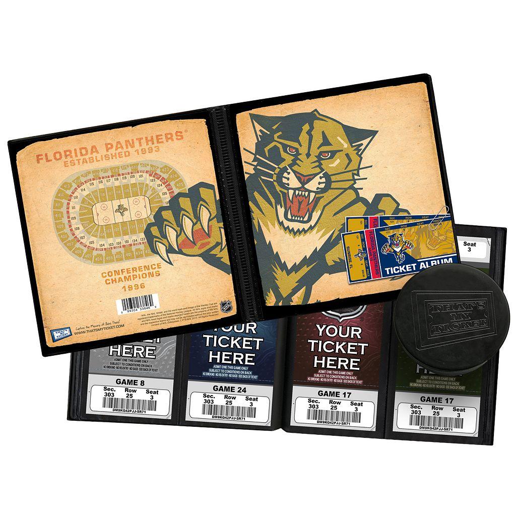 Florida Panthers Ticket Album