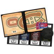 Montreal Canadiens Ticket Album
