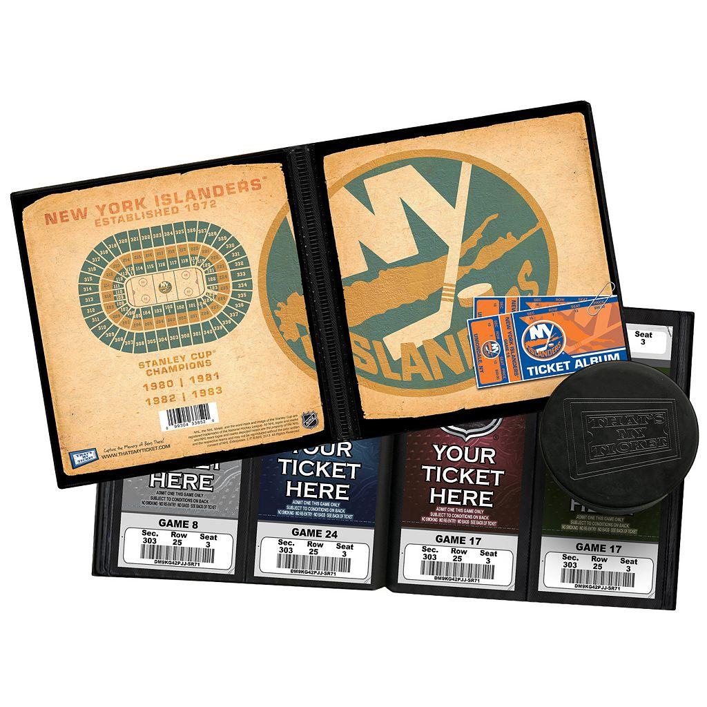 New York Islanders Ticket Album