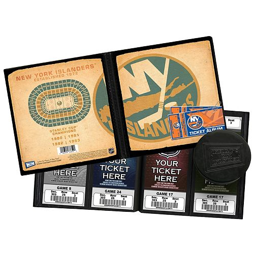 New York Islanders Ticket Album