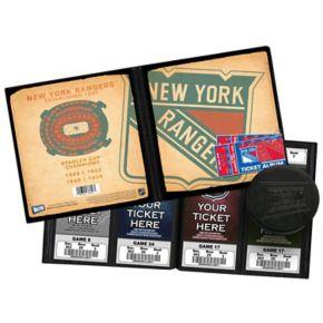 New York Rangers Ticket Album