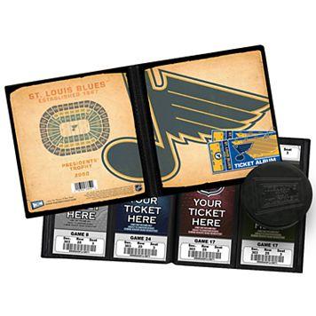 St. Louis Blues Ticket Album