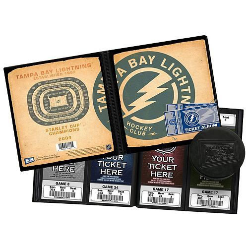 Tampa Bay Lightning Ticket Album