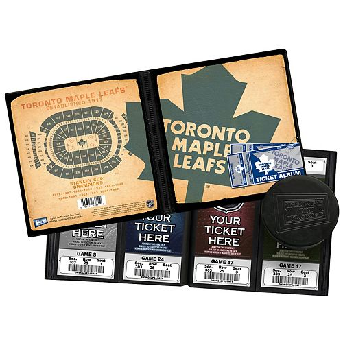 Toronto Maple Leafs Ticket Album