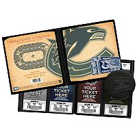 Vancouver Canucks Ticket Album