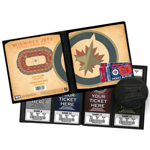 Winnipeg Jets Ticket Album