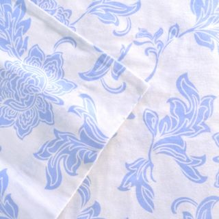 Celeste Home Corsage Flannel Sheet Set - Full