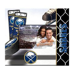 Buffalo Sabres 8' x 8' Ticket and Photo Album Scrapbook