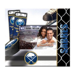 "Buffalo Sabres 8"" x 8"" Ticket and Photo Album Scrapbook"