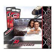 Carolina Hurricanes 8' x 8' Ticket and Photo Album Scrapbook