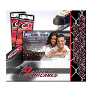 "Carolina Hurricanes 8"" x 8"" Ticket and Photo Album Scrapbook"