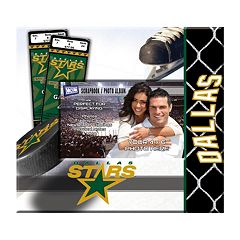 Dallas Stars 8' x 8' Ticket and Photo Album Scrapbook