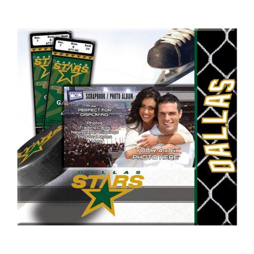"""Dallas Stars 8"""" x 8"""" Ticket and Photo Album Scrapbook"""