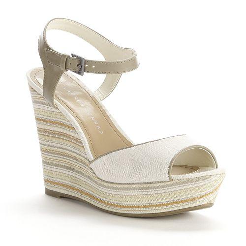 LC Lauren Conrad Firefli Womens Sandals   Lc lauren