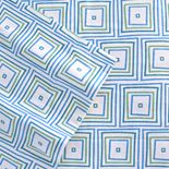 Celeste Home Matrix Flannel Sheet Set - XL Twin