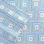 Celeste Home Matrix Flannel Sheet Set - Cal. King