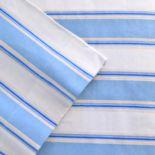 Celeste Home Stripe Flannel Sheet Set - Twin