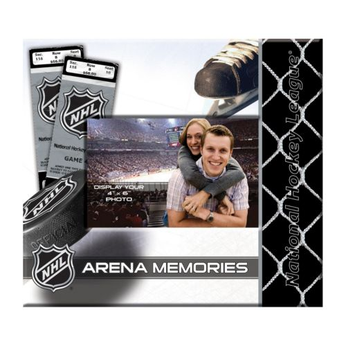 National Hockey League 8'' x 8'' Ticket and Photo Album Scrapbook