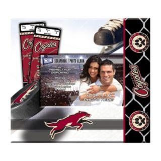 Phoenix Coyotes 8'' x 8'' Ticket and Photo Album Scrapbook