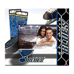St. Louis Blues 8' x 8' Ticket and Photo Album Scrapbook