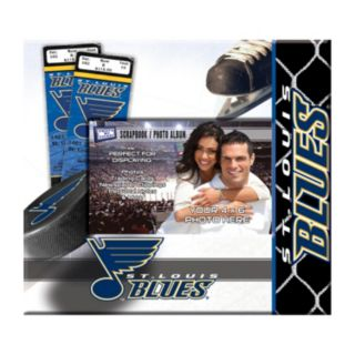 St. Louis Blues 8'' x 8'' Ticket and Photo Album Scrapbook