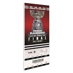 Chicago Blackhawks 2013 Stanley Cup Finals Mega Ticket