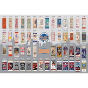 New York Mets 2013 MLB All-Star Game Tickets To History Canvas Print