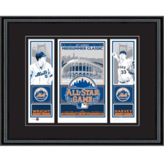 New York Mets 2013 MLB All-Star Game David Wright  and  Matt Harvey Sports Propaganda Screen Print