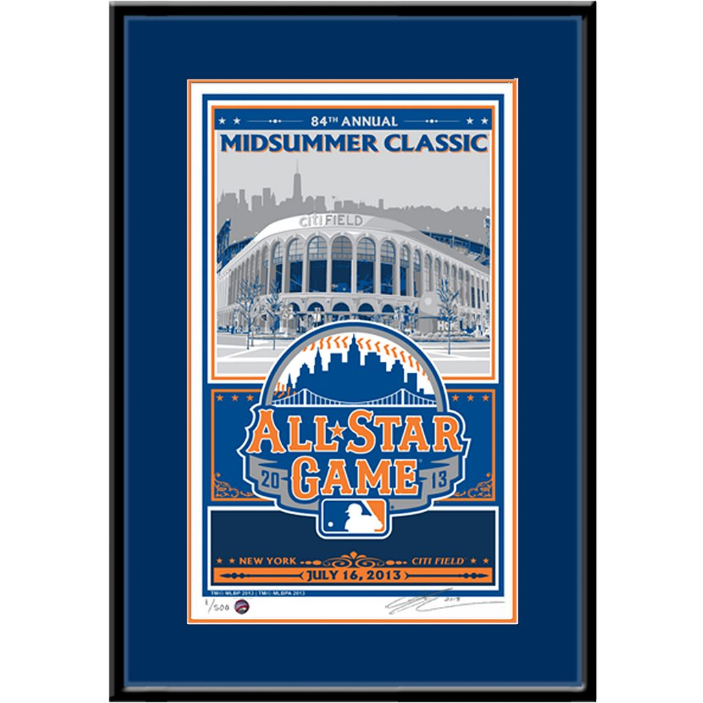New York Mets 2013 MLB All-Star Game Sports Propaganda Screen Print