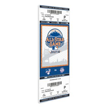 New York Mets 2013 MLB All-Star Game Mega Ticket