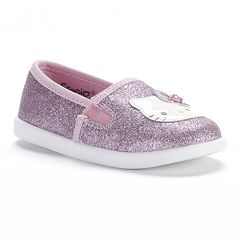 Hello Kitty® Glitter Slip-On Shoes - Girls