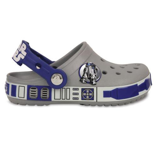 Crocs Glow-In-The-Dark Stars Wars R2D2 Clogs - Boys