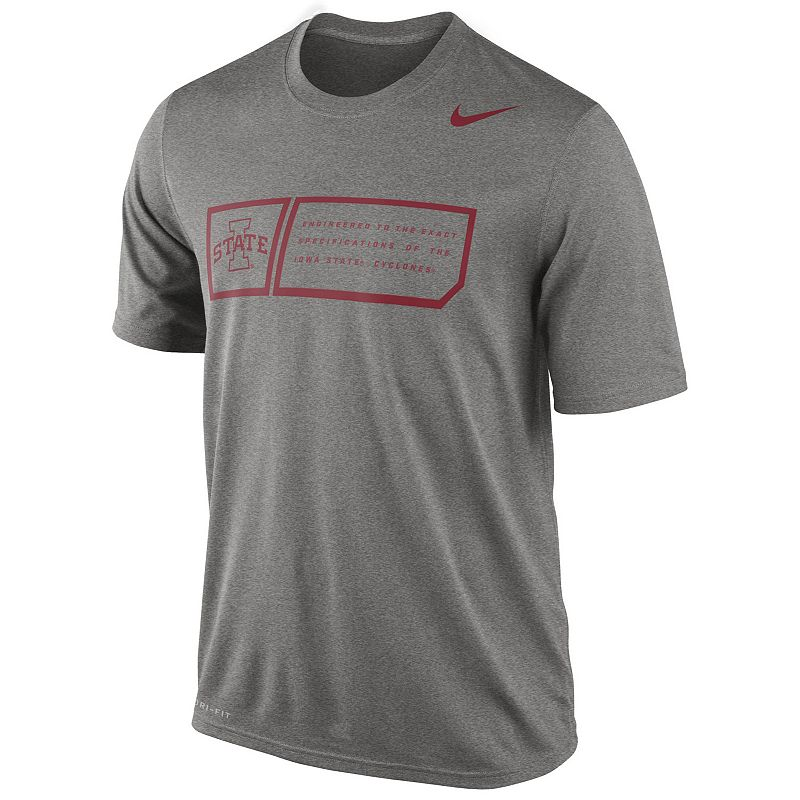 Nike Iowa State Cyclones Legend Training Day Dri-FIT Performance Top - Men