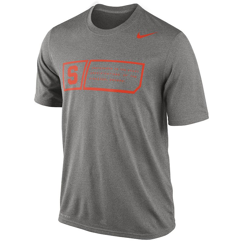 Nike Syracuse Orange Legend Training Day Dri-FIT Performance Top - Men