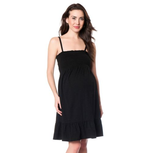 Maternity Oh Baby By Motherhood Smocked Tube Dress