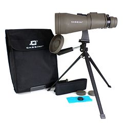 Cassini 10-30 x 60mm Zoom Binoculars with Case & Tripod