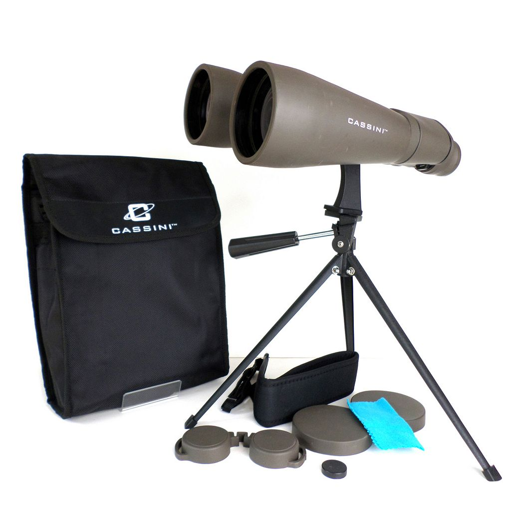 Cassini 15 x 70mm Astronomical Binoculars with Case and Tripod