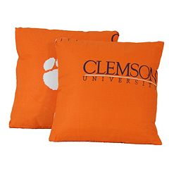College Covers Clemson Tigers 16' Decorative Pillow Set