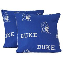 College Covers Duke Blue Devils 16' Decorative Pillow Set