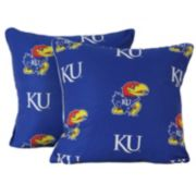 "College Covers Kansas Jayhawks 16"" Decorative Pillow Set"