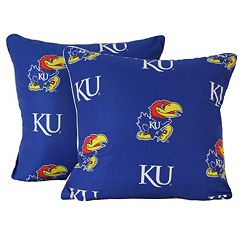 College Covers Kansas Jayhawks 16' Decorative Pillow Set