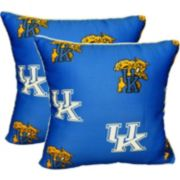 "College Covers Kentucky Wildcats 16"" Decorative Pillow Set"